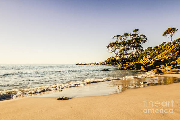Photograph - Tranquil And Calm East Coast Harbor In Tasmania by Jorgo Photography - Wall Art Gallery