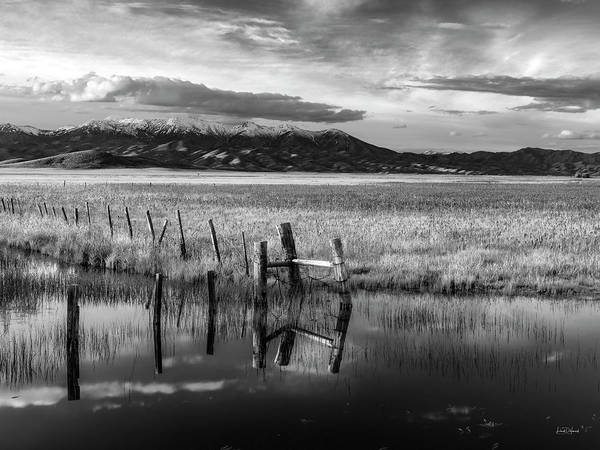 Wall Art - Photograph - Tranquil Black And White 16 by Leland D Howard