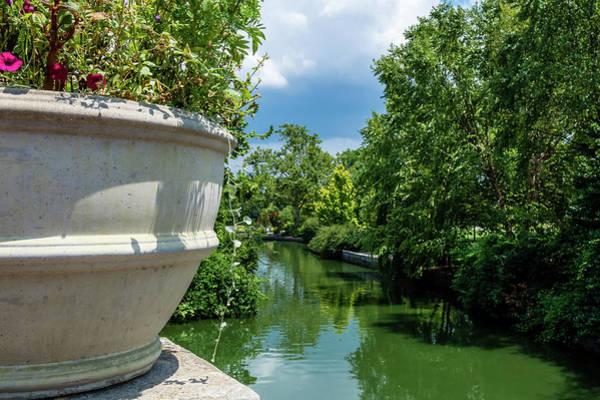 Photograph - Tranquil Garden by James L Bartlett