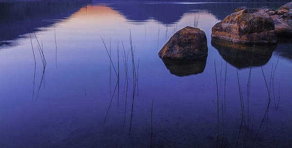 Wall Art - Photograph - Tranquil In Blue   by T-S Fine Art Landscape Photography
