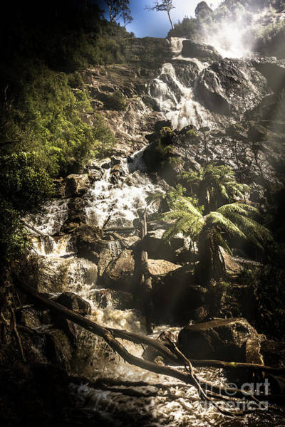 Beautiful Park Photograph - Tranquil Mountain Canyon by Jorgo Photography - Wall Art Gallery