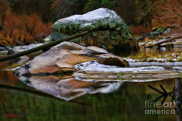 Photograph - Tranquil Rocks by Blake Richards