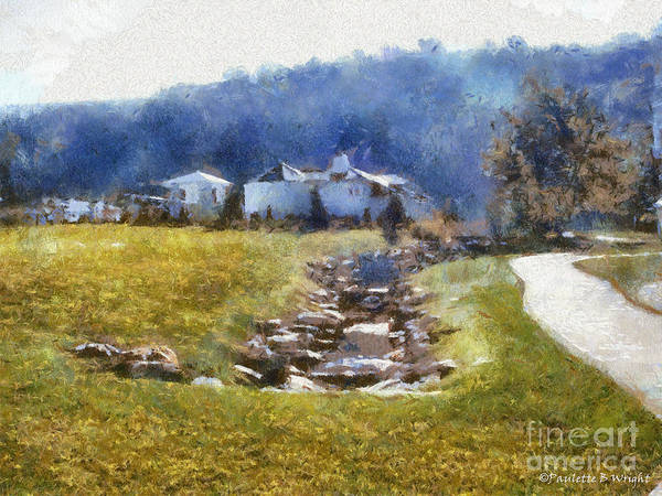 Painting - Tranquil Scene by Paulette B Wright