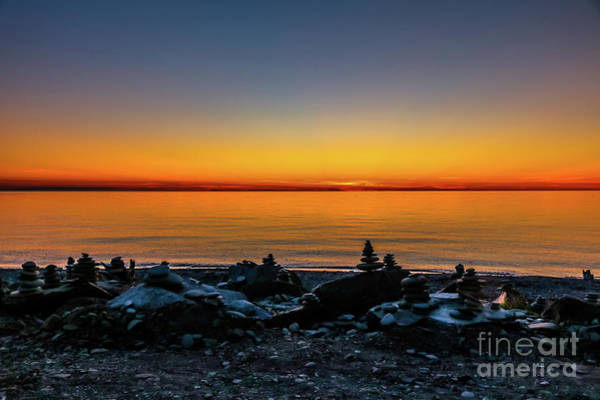Cabot Trail Photograph - Tranquil Sunset by Claudia M Photography