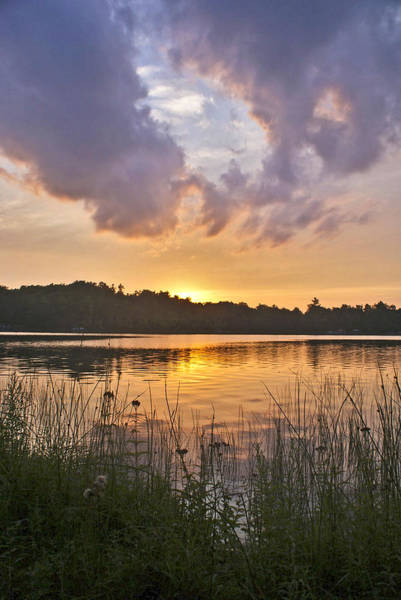 Photograph - Tranquil Sunset On The Lake by Gary Eason