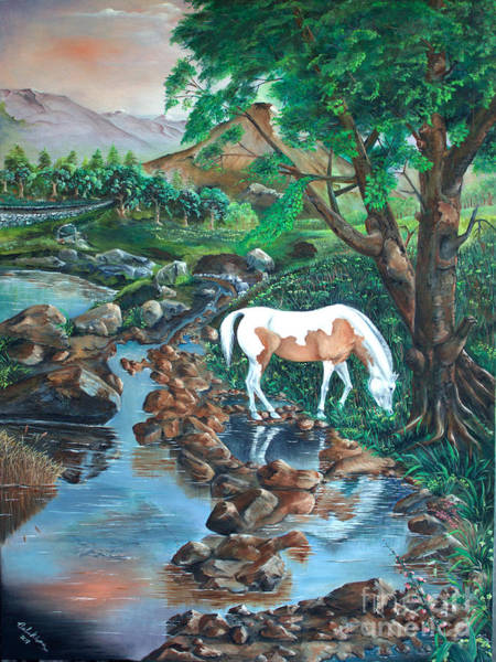 Painting - Tranquility by Farzali Babekhan