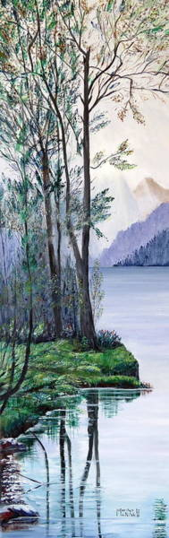 Painting - Tranquility by Marilyn  McNish