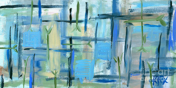 Painting - Tranquility Painting by Kristen Fox
