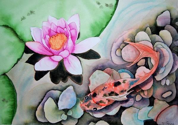 Painting - Stone's Throw by Sonja Jones