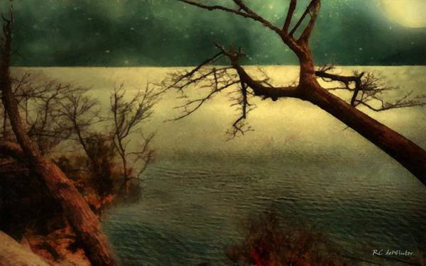 Painting - Tranquillity Bay by RC DeWinter