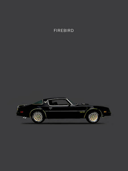 Firebird Photograph - Trans Am Firebird by Mark Rogan