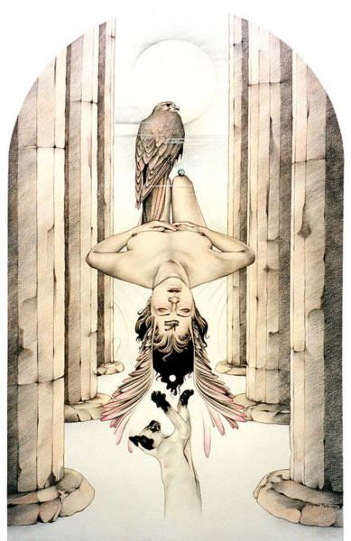 Drawing - Trans by Johanna Pieterman