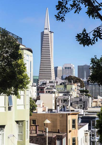 Photograph - Transamerica Pyramid In San Francisco by Didier Marti