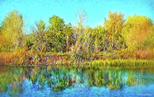 Digital Art - Transcendent Stillness by Joel Bruce Wallach