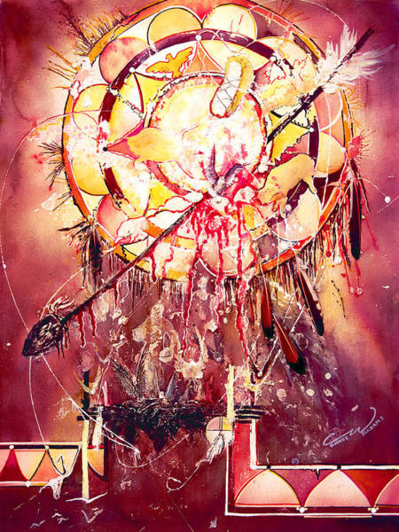 Transcending Indian Spirit Art Print