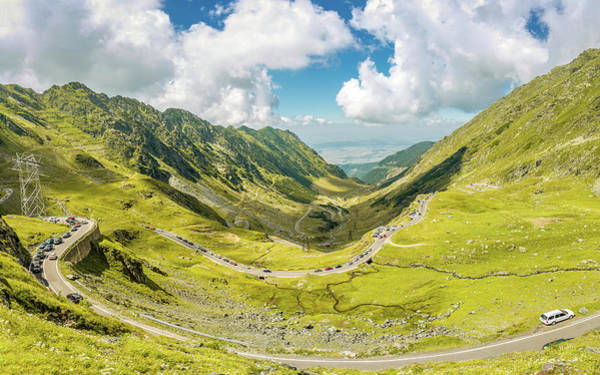 Photograph - Transfagarasan Traffic by Mihai Andritoiu