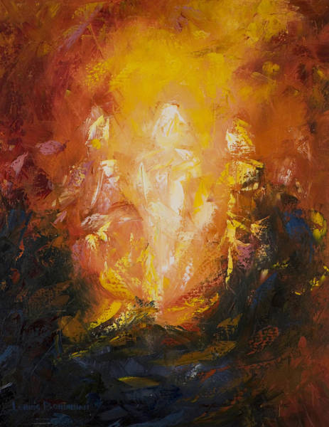 Oil Paints Painting - Transfiguration by Lewis Bowman