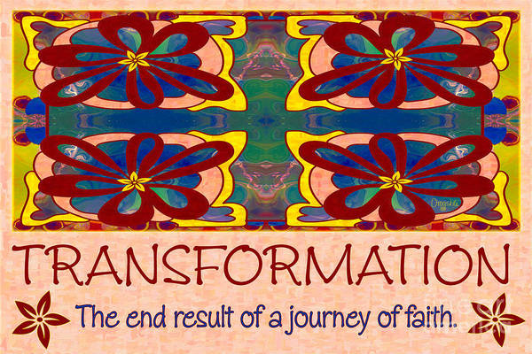 Cultivation Digital Art - Transformation Motivational Artwork By Omashte by Omaste Witkowski