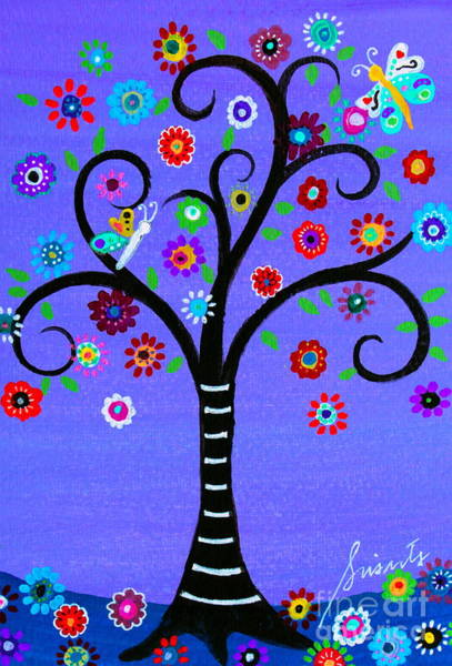 Painting - Transformation Tree Of Life by Pristine Cartera Turkus
