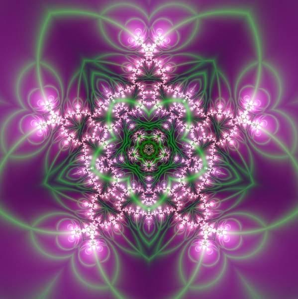 Digital Art - Transition Flower 5 Beats by Robert Thalmeier