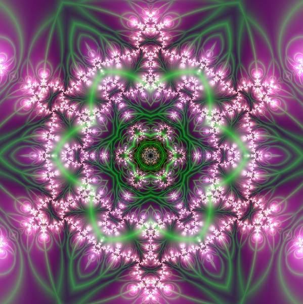 Digital Art - Transition Flower 6 Beats 4 by Robert Thalmeier