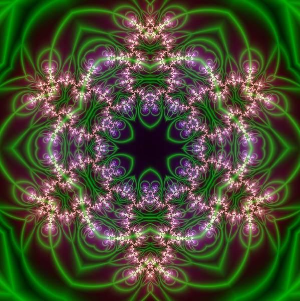 Digital Art - Transition Flower 6 Beats by Robert Thalmeier