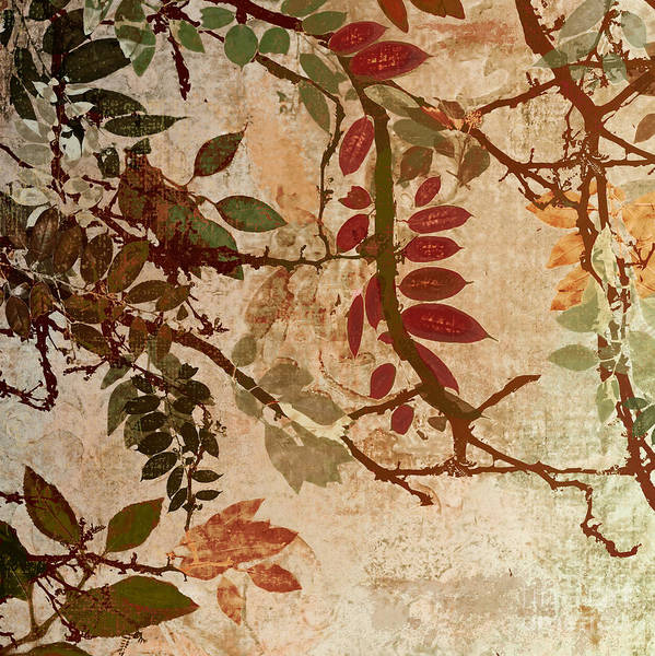 Autumn Wall Art - Painting - Transition by Mindy Sommers