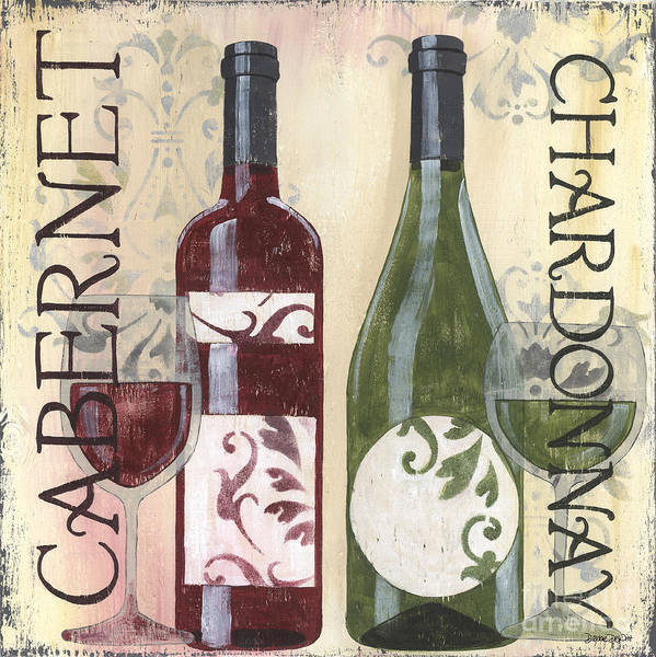 Wall Art - Painting - Transitional Wine 2 by Debbie DeWitt