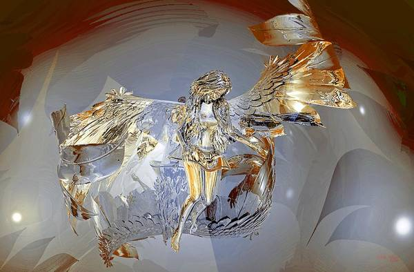 Digital Art - Transparent Angel by Deleas Kilgore