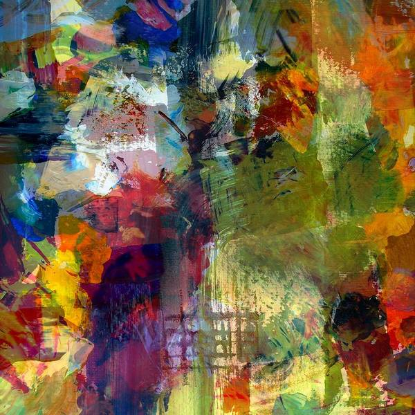 Painting - Transparent Layers Four by Michelle Calkins