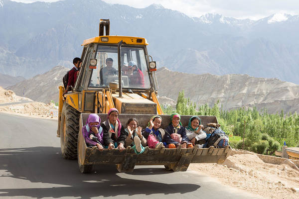 Photograph - Transport In Ladakh, India by Didier Marti