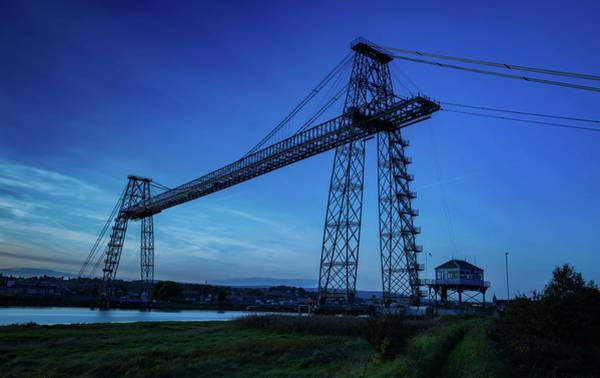 Transporter Wall Art - Photograph - Transporter Bridge by Nigel Jones