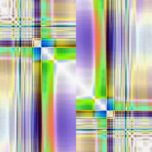 Crisscross Wall Art - Digital Art - Transverse by Tom Druin