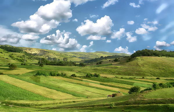 Photograph - Transylvania Landscape by Anthony Dezenzio