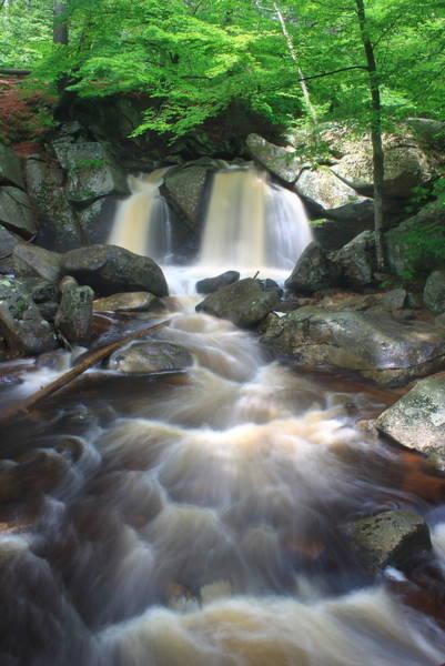 Wall Art - Photograph - Trap Falls High Water by John Burk