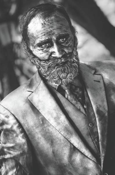 Photograph - Trapped Man by Sotiris Filippou