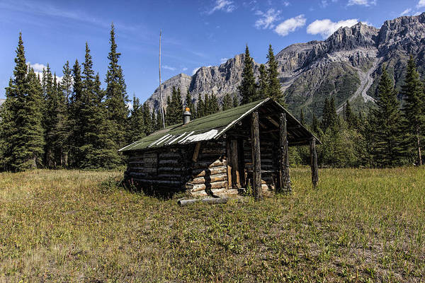 Photograph - Trappers Cabin by Fred Denner