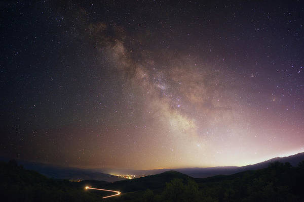 Photograph - Trappers Loop Milky Way by Ryan Moyer