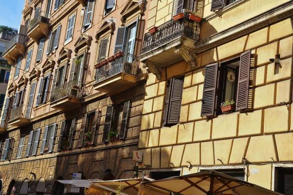 Photograph - Trastevere View by JAMART Photography