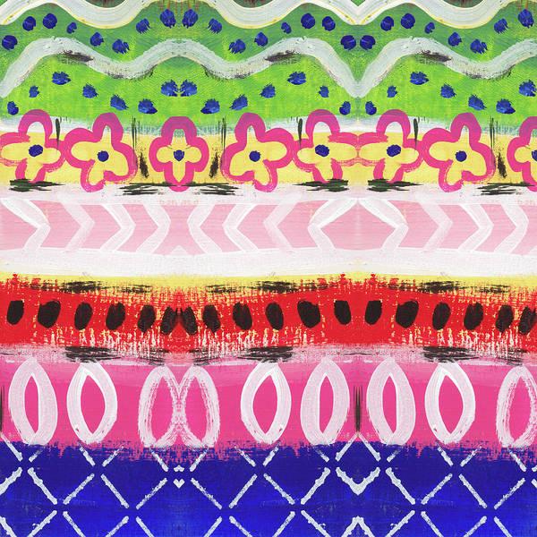Dot Mixed Media - Southwest Jubilee- Art By Linda Woods by Linda Woods
