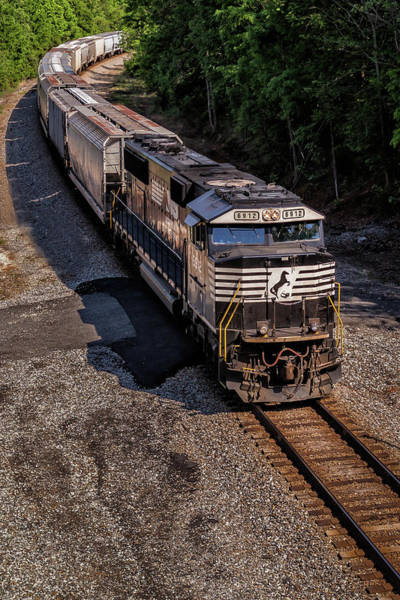 Norfolk Southern Wall Art - Photograph - Travel West by Tim Wilson