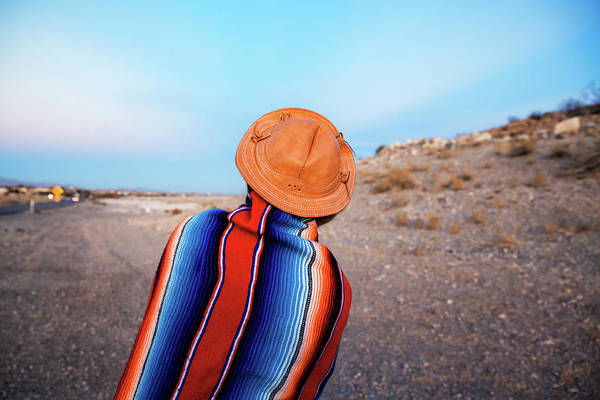 Southwest Photograph - Traveler by Evgeniya Lystsova