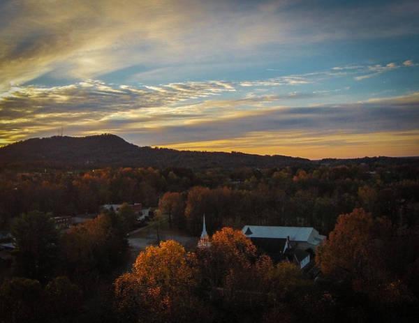 Photograph - Travelers Rest Autumn Sunrise by James Richardson