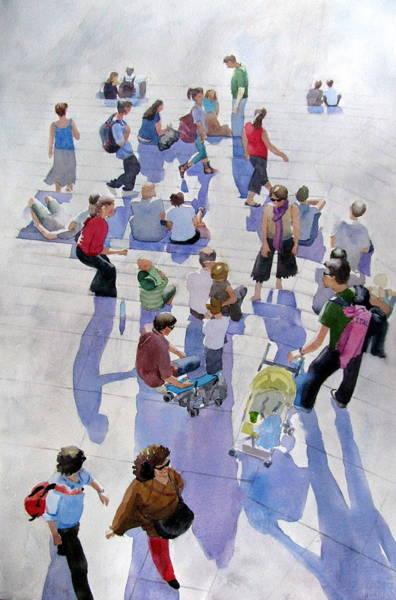 Painting - Travelers by Sharon Lehman