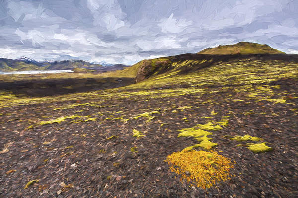 Iceland Digital Art - Traveling Down II by Jon Glaser
