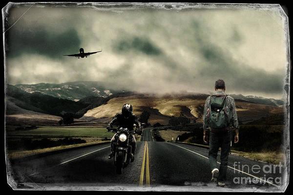 Digital Art - Travellers by Chris Armytage