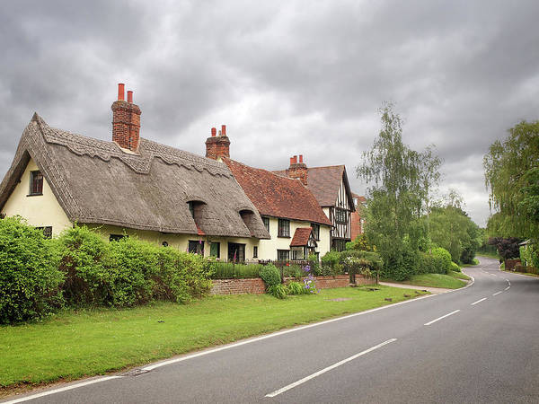 Photograph - Travellers Delight - English Country Road by Gill Billington