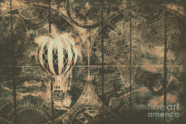 Air Balloon Wall Art - Photograph - Travelling The Old World by Jorgo Photography - Wall Art Gallery