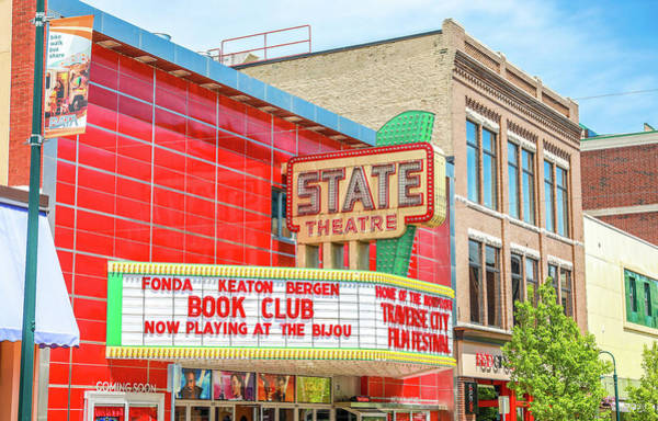 Photograph - Traverse City State Theatre by Dan Sproul