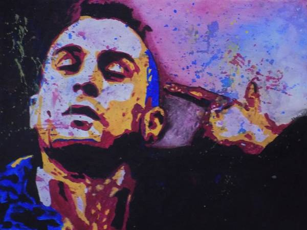 Lunatic Painting - Travis Bickle by Maria Masella